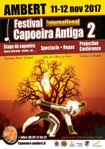 Affiche Festival Capoeira